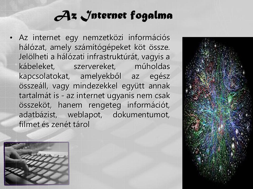 Az Internet fogalma