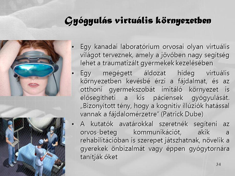 Gyógyulás virtuális környezetben
