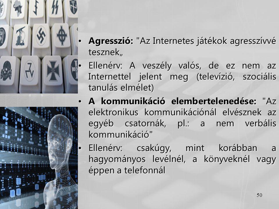 """Agresszió: Az Internetes játékok agresszívvé tesznek"""""""