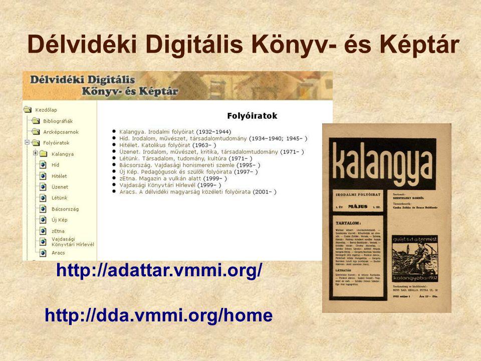 Délvidéki Digitális Könyv- és Képtár