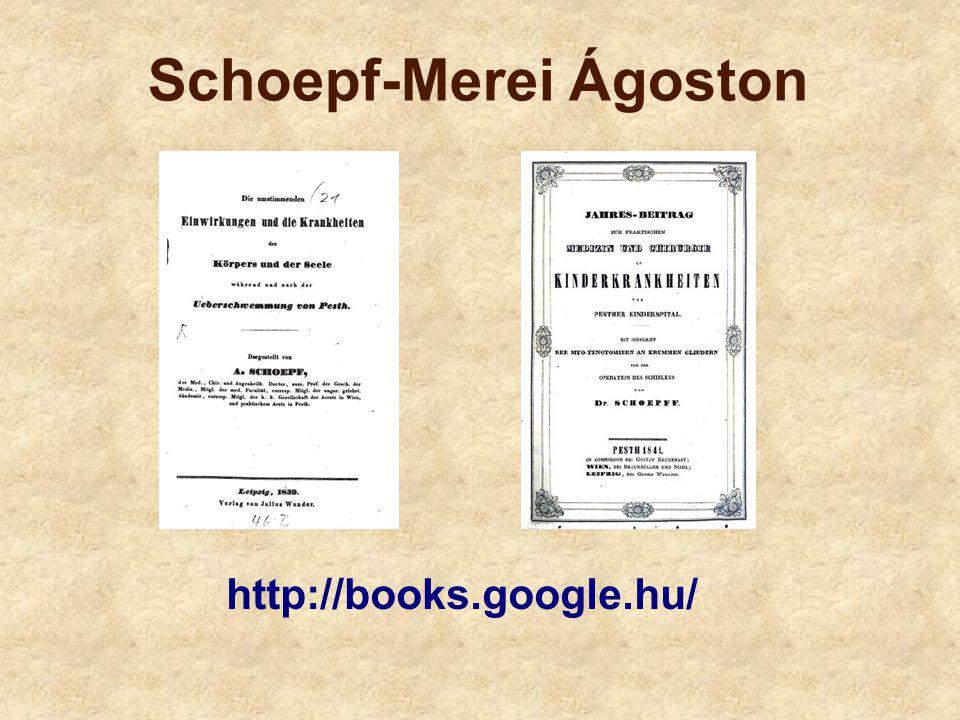 Schoepf-Merei Ágoston