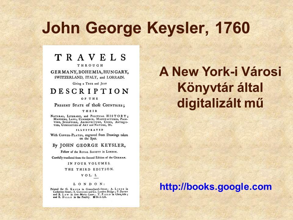 A New York-i Városi Könyvtár által digitalizált mű