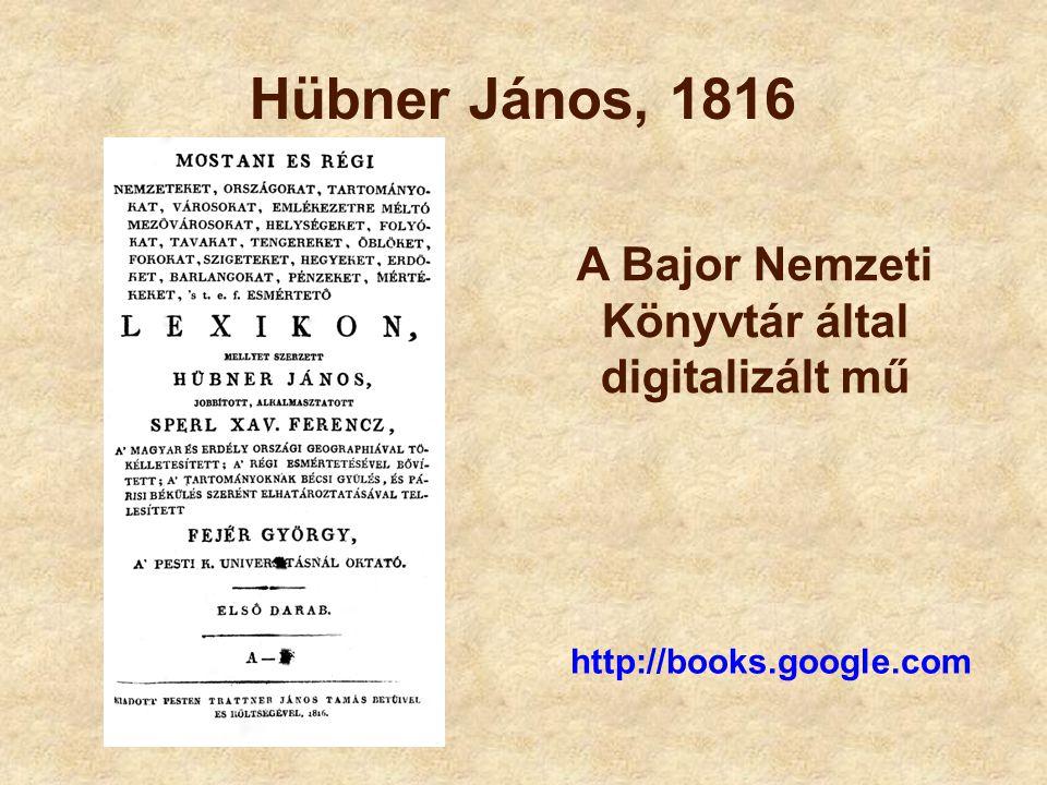 A Bajor Nemzeti Könyvtár által digitalizált mű
