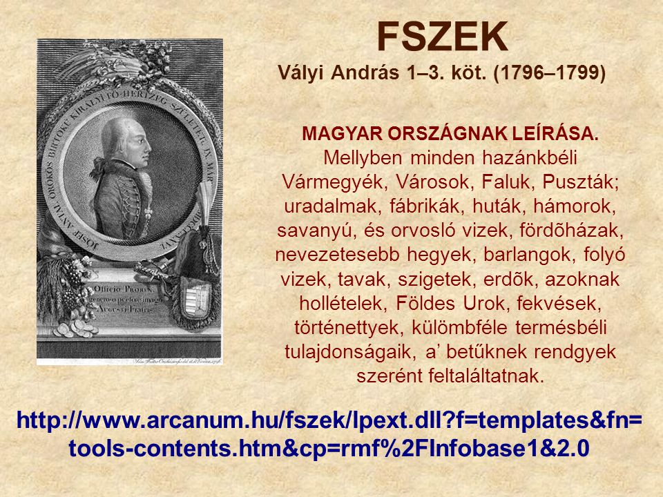 FSZEK Vályi András 1–3. köt. (1796–1799)