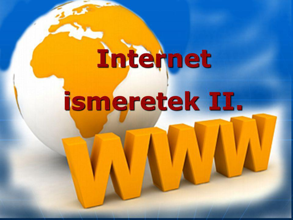 Internet ismeretek II.