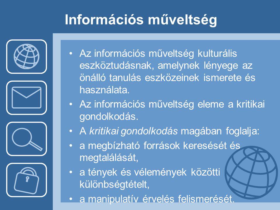 Információs műveltség