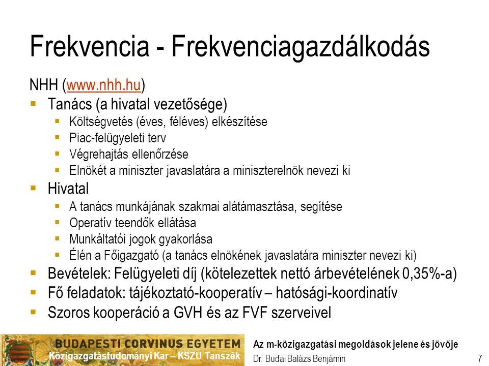 Frekvencia - Frekvenciagazdálkodás
