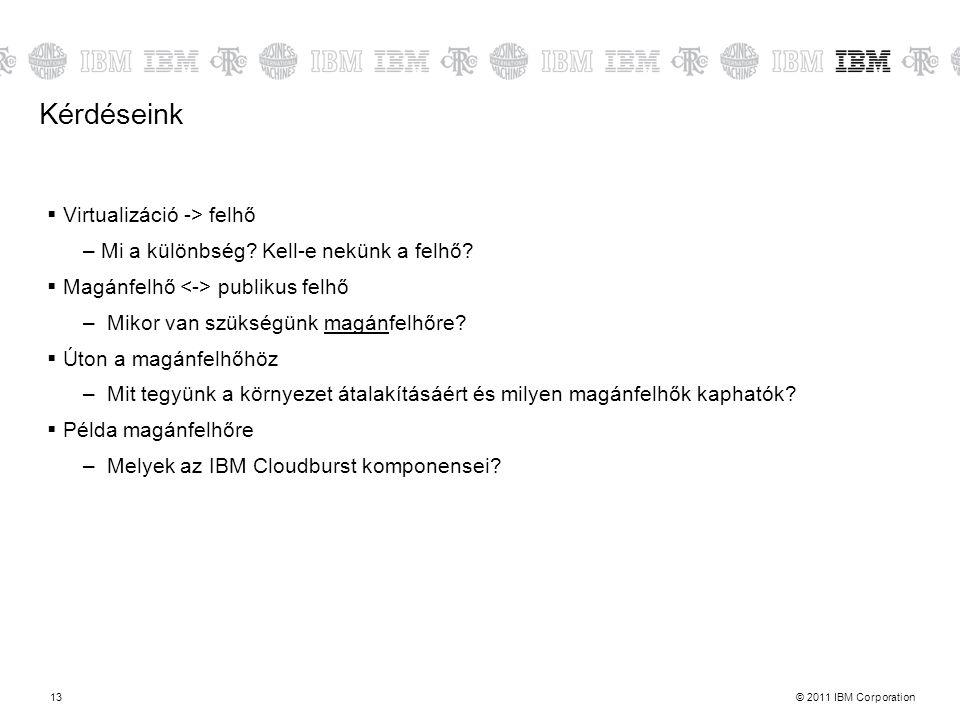 Kérdéseink Virtualizáció -> felhő
