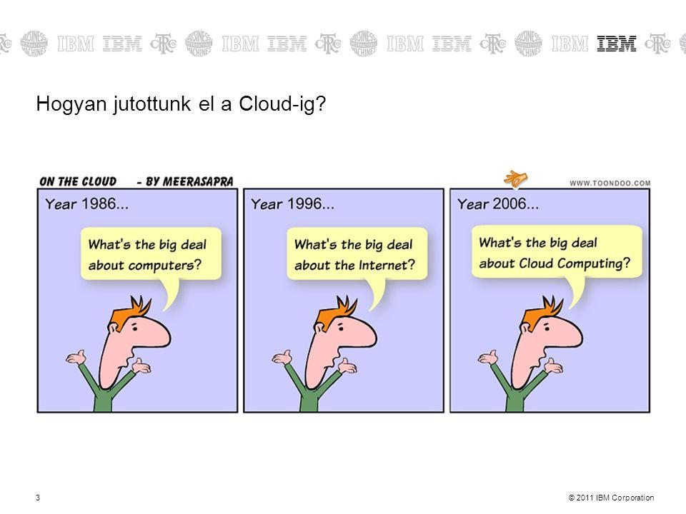 Hogyan jutottunk el a Cloud-ig