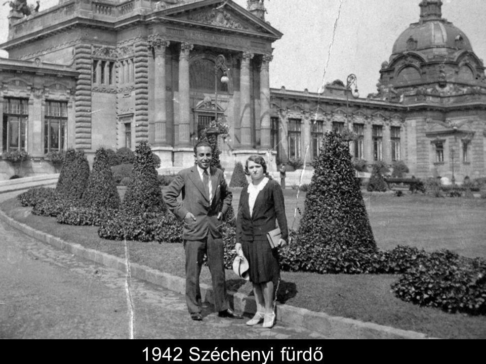 1942 Széchenyi fürdő