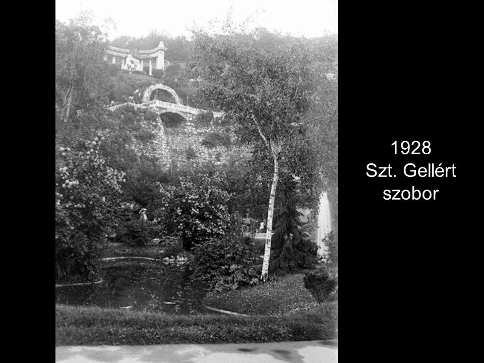 1928 Szt. Gellért szobor
