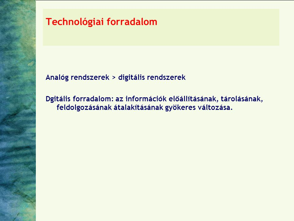 Technológiai forradalom