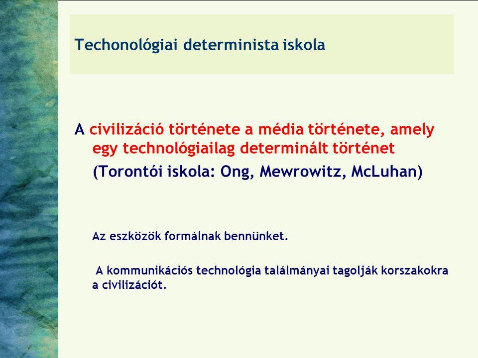 Techonológiai determinista iskola