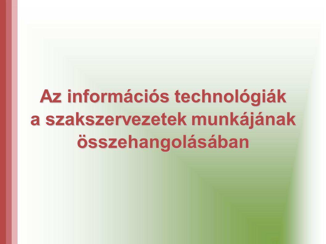 Az információs technológiák