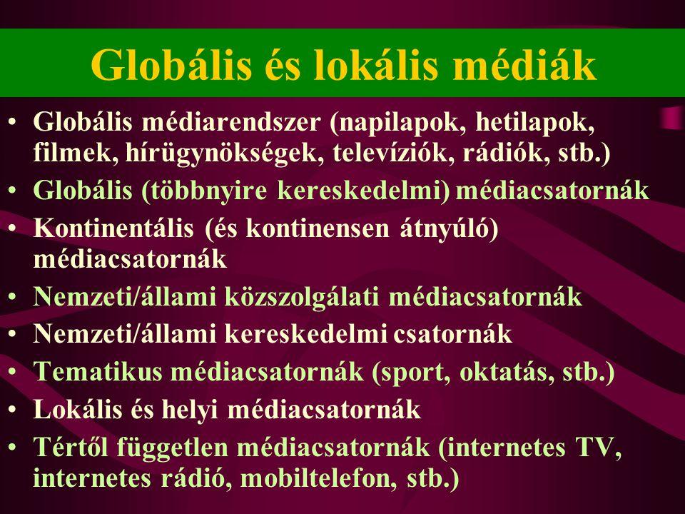 Globális és lokális médiák