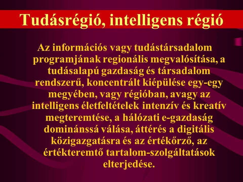 Tudásrégió, intelligens régió