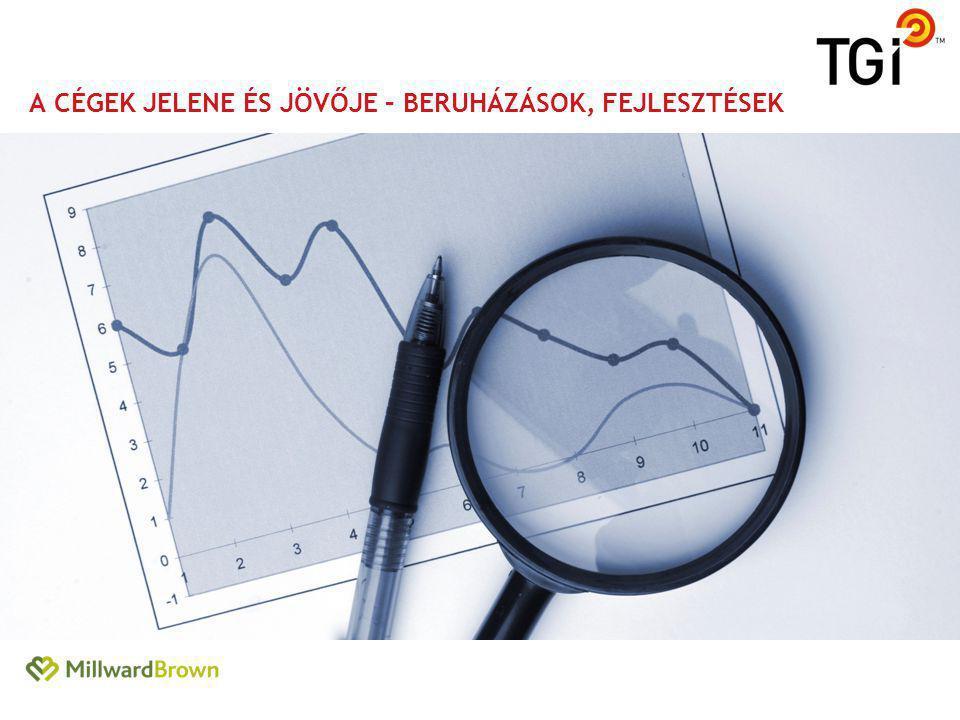 a cégek Jelene és jövője – beruházások, fejlesztések