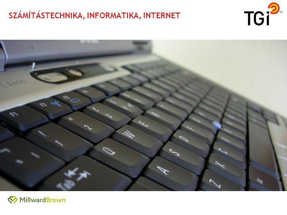 Számítástechnika, informatika, internet