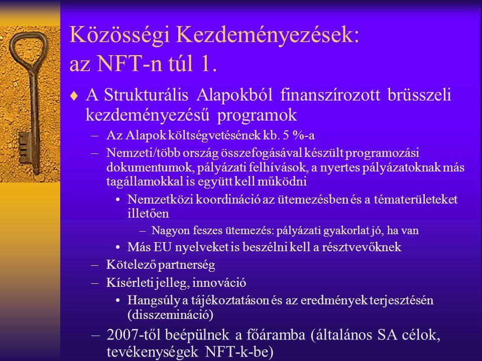 Közösségi Kezdeményezések: az NFT-n túl 1.