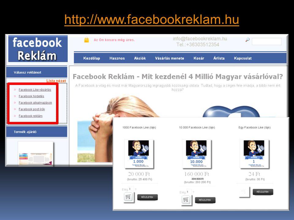 http://www.facebookreklam.hu