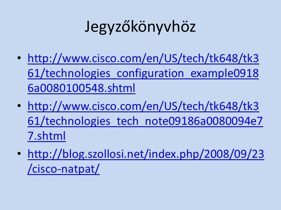 Jegyzőkönyvhöz http://www.cisco.com/en/US/tech/tk648/tk361/technologies_configuration_example09186a0080100548.shtml.