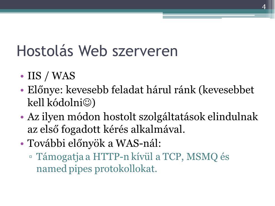 Hostolás Web szerveren