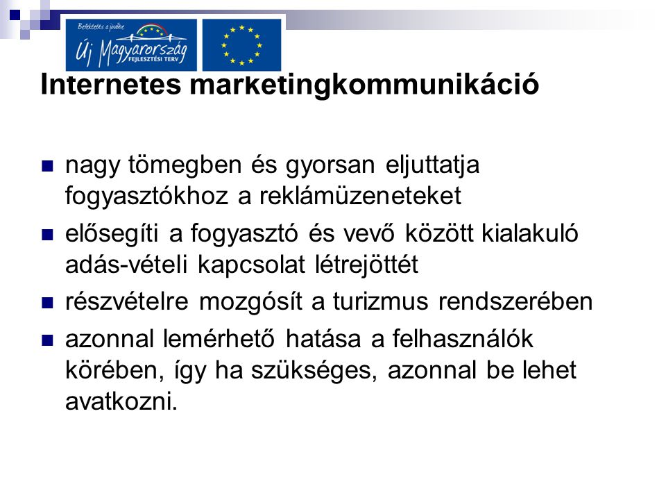 Internetes marketingkommunikáció