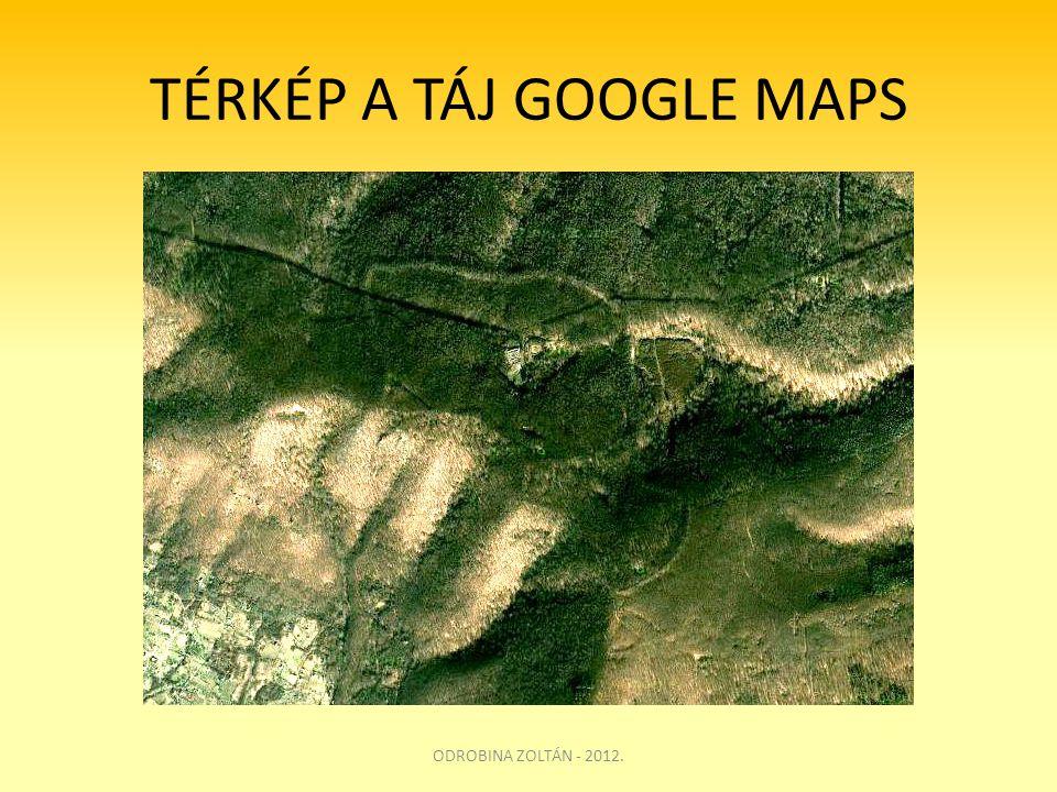TÉRKÉP A TÁJ GOOGLE MAPS