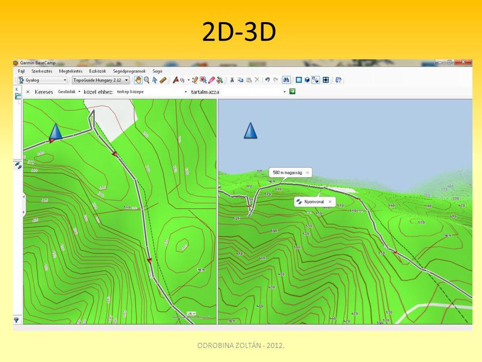 2D-3D ODROBINA ZOLTÁN - 2012.