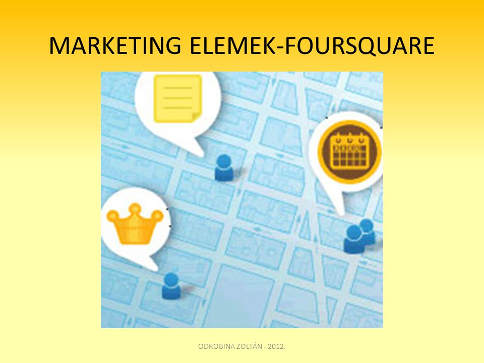 MARKETING ELEMEK-FOURSQUARE