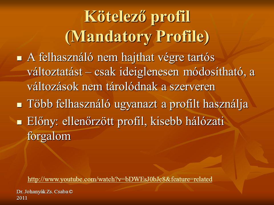 Kötelező profil (Mandatory Profile)