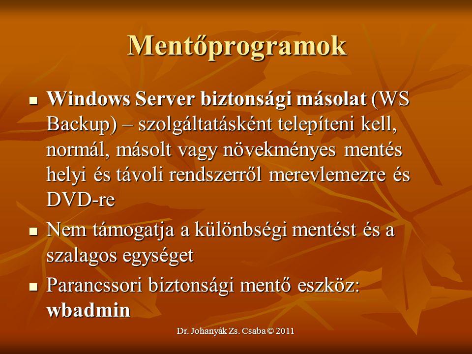 Mentőprogramok
