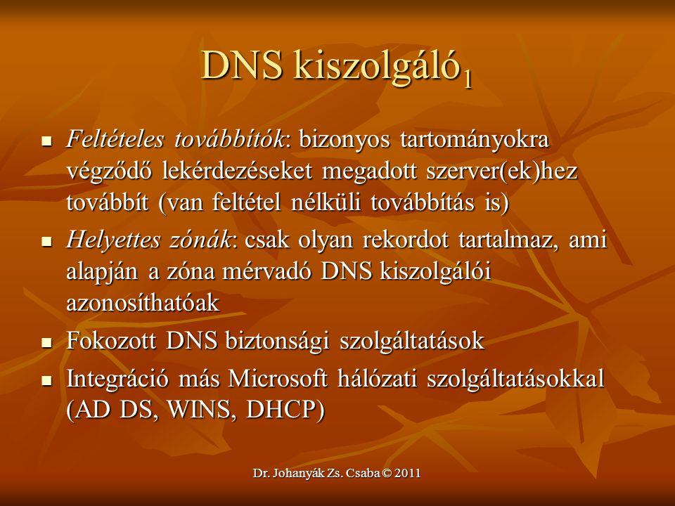 DNS kiszolgáló1