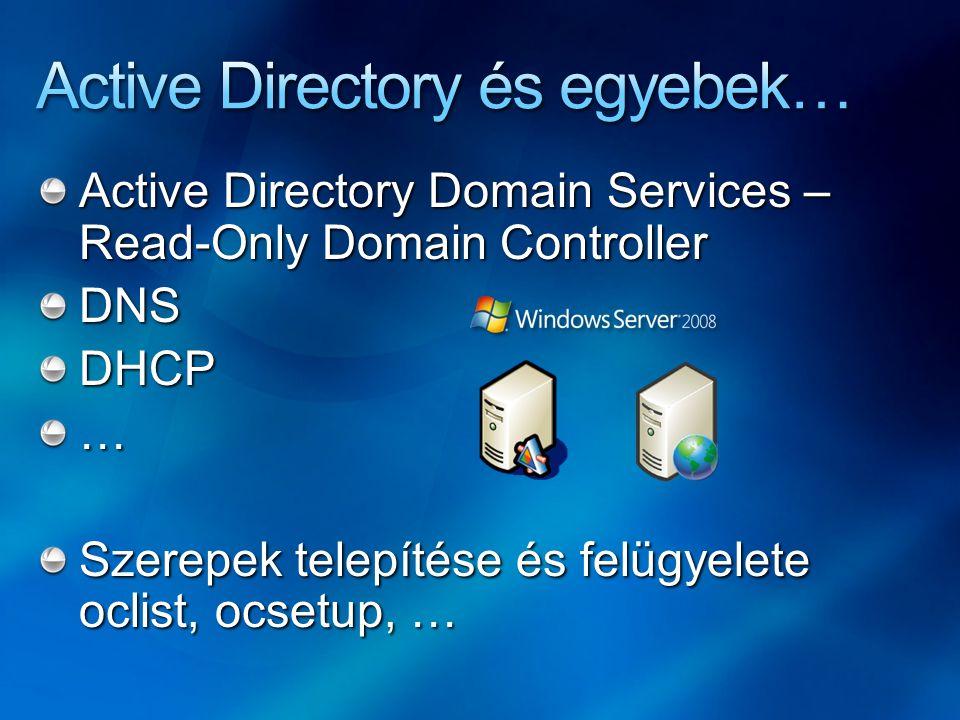 Active Directory és egyebek…