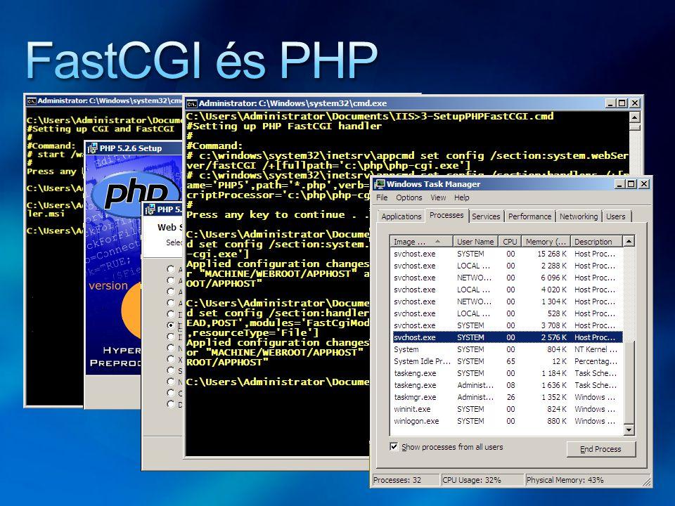 FastCGI és PHP
