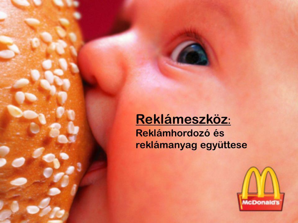 Reklámeszköz: Reklámhordozó és reklámanyag együttese