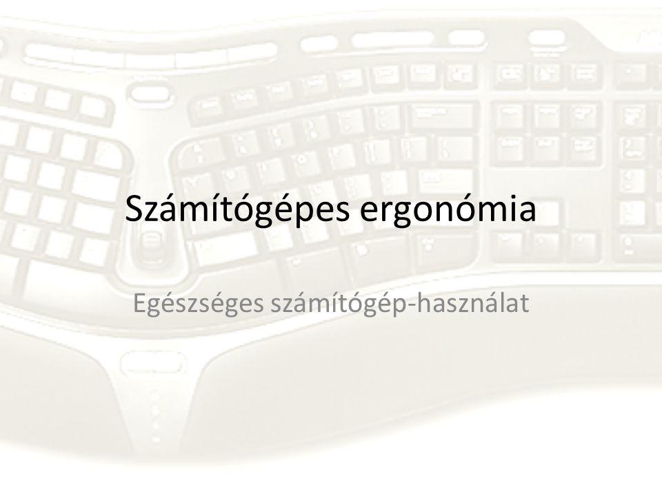 Számítógépes ergonómia