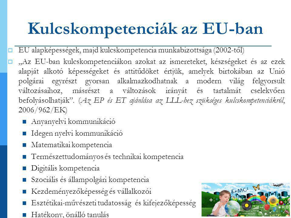 Kulcskompetenciák az EU-ban