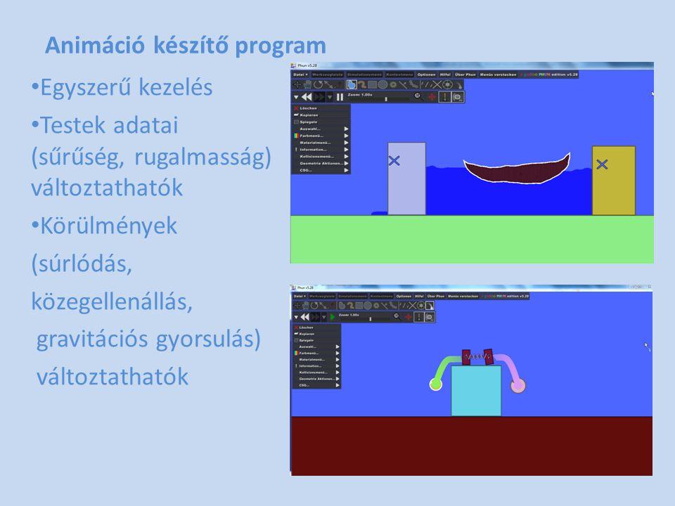 Animáció készítő program