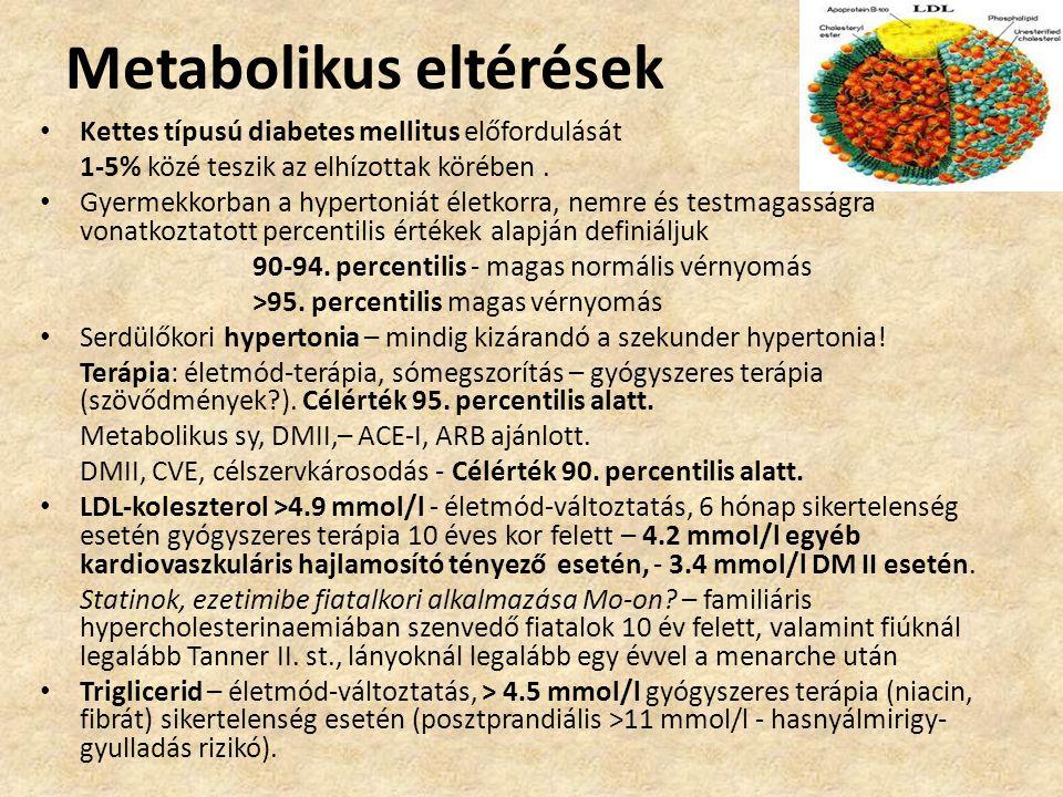 Metabolikus eltérések