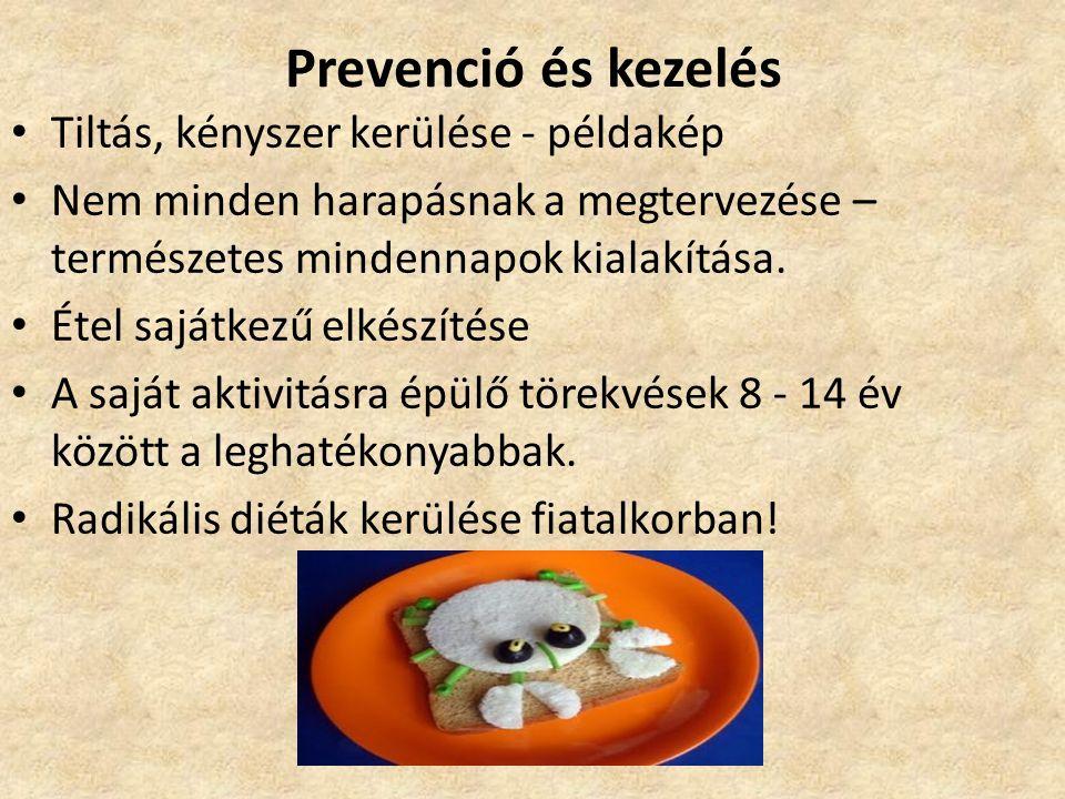 Prevenció és kezelés Tiltás, kényszer kerülése - példakép