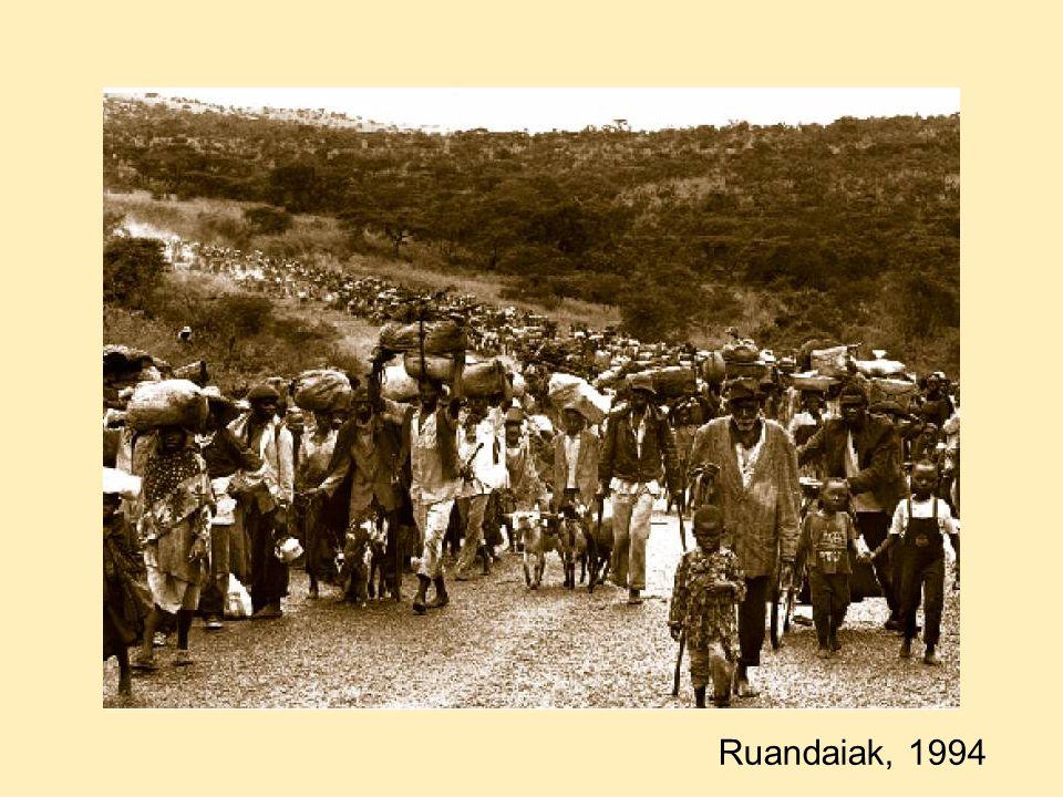 Ruandaiak, 1994