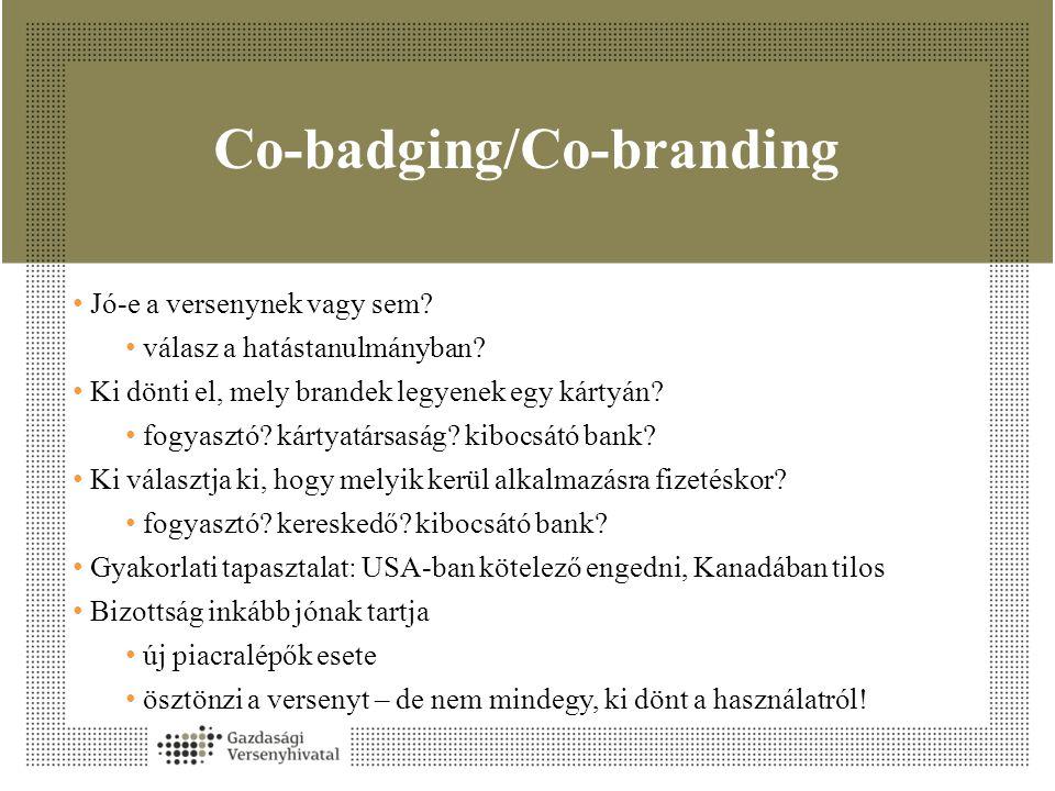 Co-badging/Co-branding