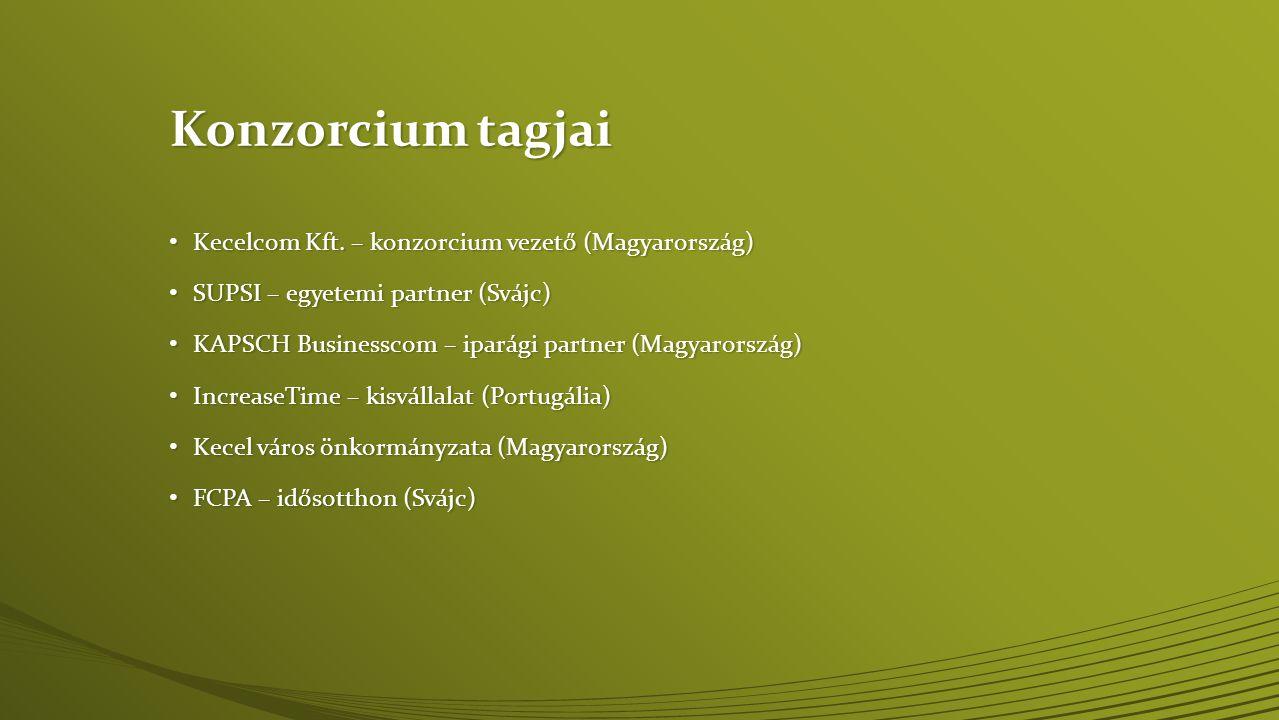 Konzorcium tagjai Kecelcom Kft. – konzorcium vezető (Magyarország)