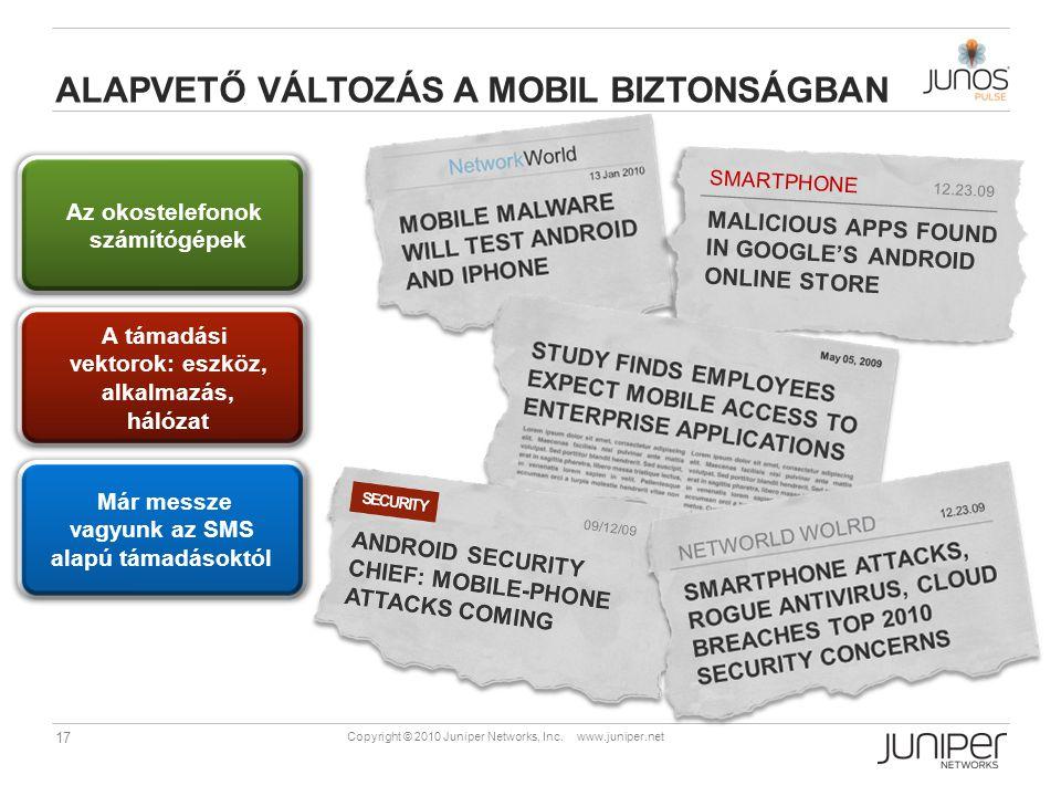 Alapvető változás a mobil biztonságban