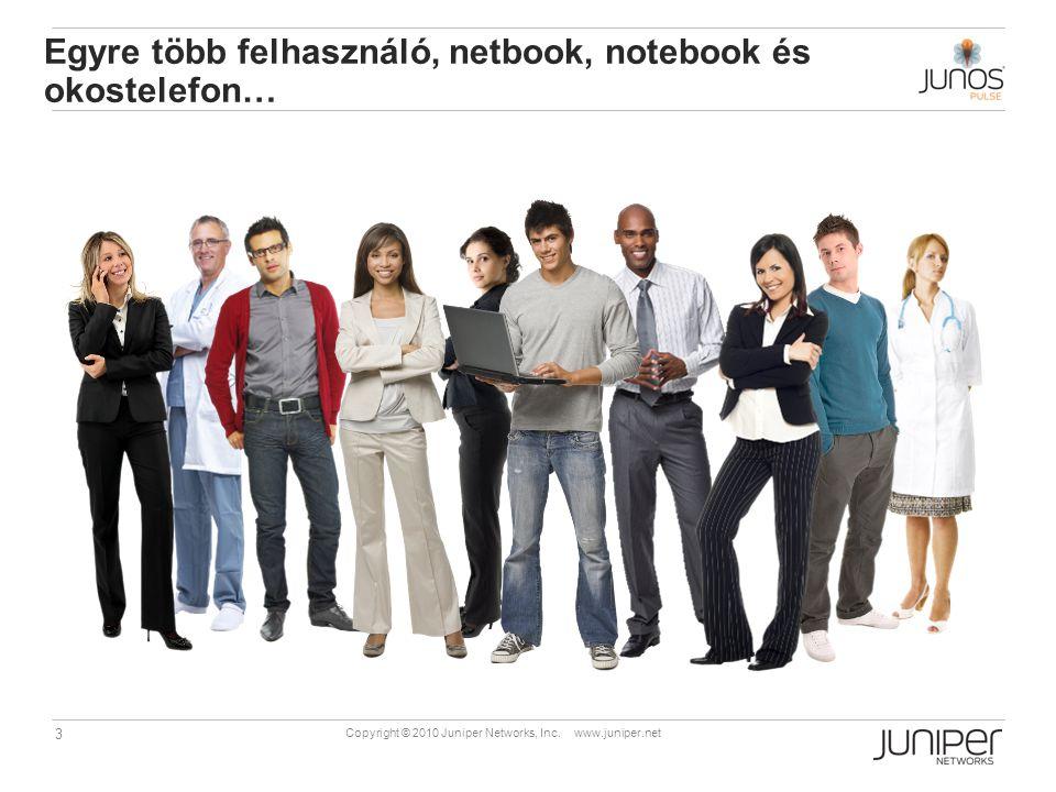 Egyre több felhasználó, netbook, notebook és okostelefon…