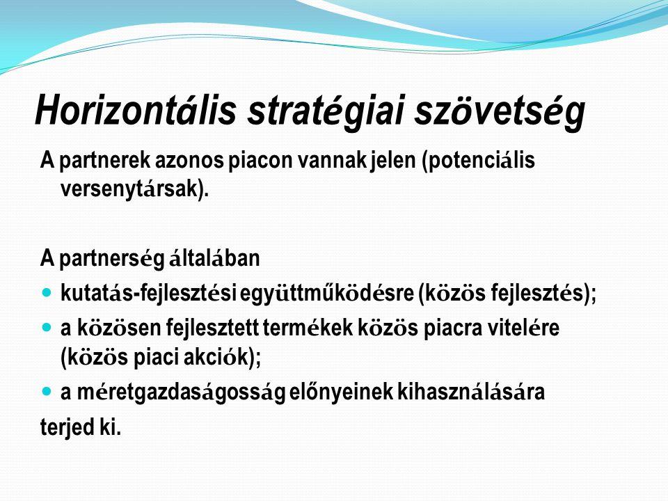 Horizontális stratégiai szövetség