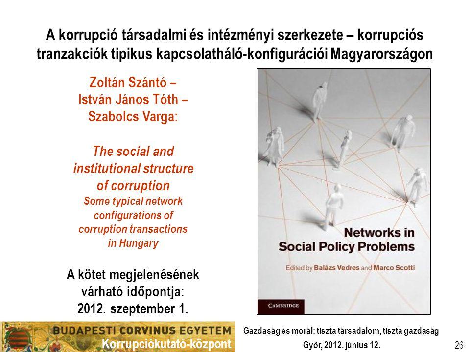 A kötet megjelenésének várható időpontja: 2012. szeptember 1.