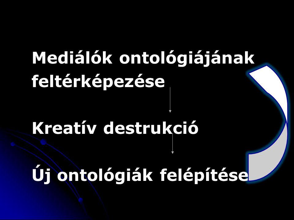 Mediálók ontológiájának