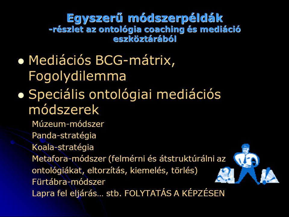 Mediációs BCG-mátrix, Fogolydilemma
